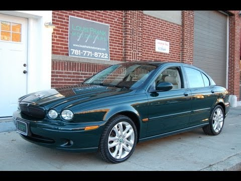 2002 Jaguar X Type 2.5 Sport Walkaround Presentation