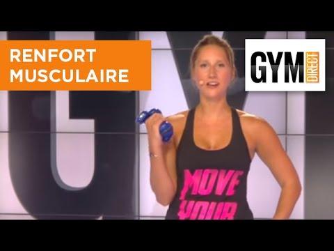 Haut du corps avec haltères - Renforcement Musculaire - 210 - YouTube