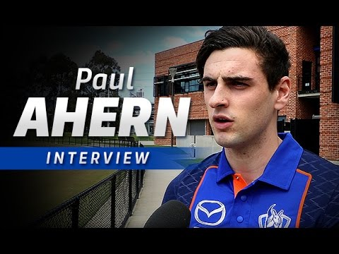 October 18, 2016 - Paul Ahern interview
