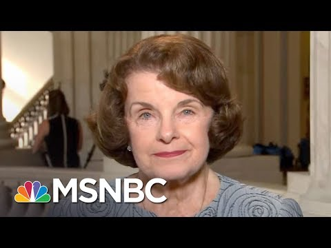 Senator Dianne Feinstein: Dems Should Consider Attaching DACA To Harvey Spending | MTP Daily | MSNBC
