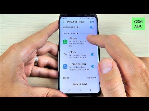 How to Backup and Restore Data on Samsung Galaxy S8, S8+, NOTE 8