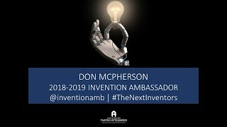 2018 Celebrate Invention - Don McPherson