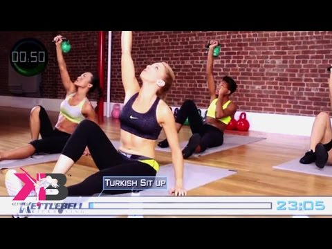 Kettlebell Kickboxing Scorcher Series 4 DVD Home Fitness w/ Dasha Libin Anderson