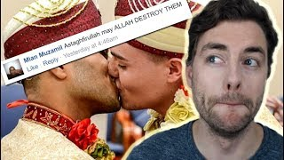 Muslims React to Gay Muslim Marriage thumbnail