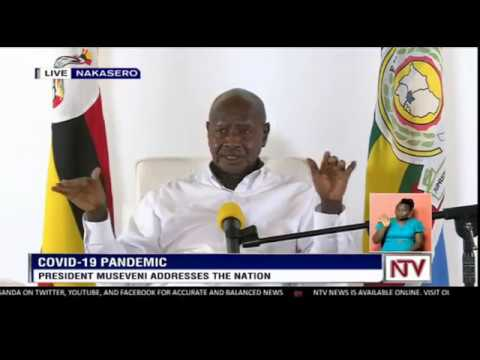 President Museveni Updates The Nation