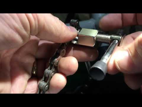 DIY How To Use a Bike Chain Link Removal Tool