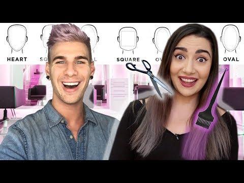 I GAVE SAFIYA NYGAARD AN INSANE HAIR TRANSFORMATION! |bradmondo