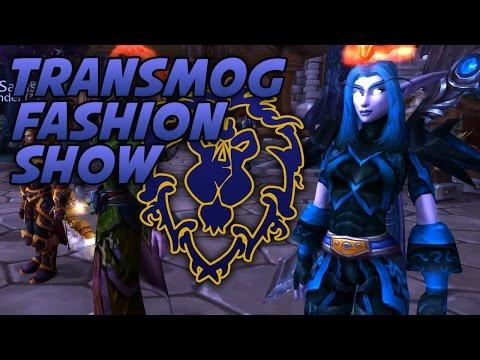 Swifty's NA ALLIANCE Transmog Fashion Show w/ Viewers! - WoW Legion 7.1