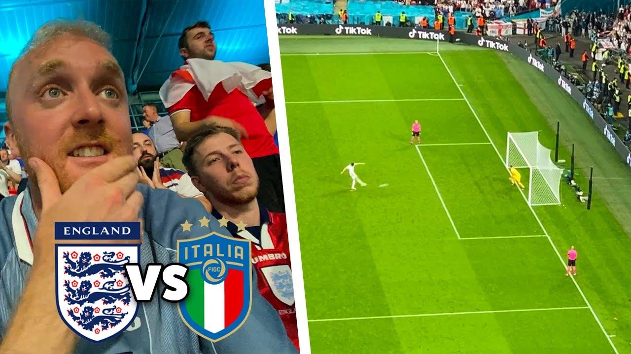 ENGLAND VS ITALY! England lose on Penalties   EURO 2020 FINAL