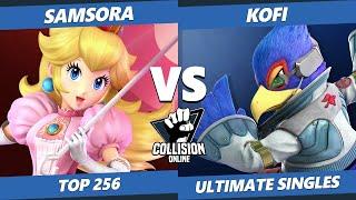 Collision Online Ultimate Top 256 - eUnited | Samsora (Peach) Vs. Kofi (Falco) SSBU Singles