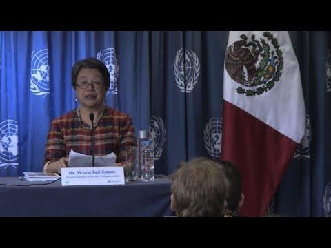 afpes: ONU alerta sobre desaparición de niños indígenas en México