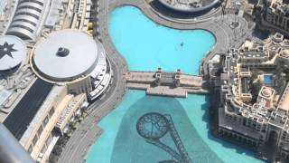 Бурдж Халифа вид с высоты (Burj Khalifa view from the heights)