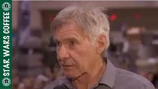 Harrison Ford on Alden Ehrenreich and Solo!