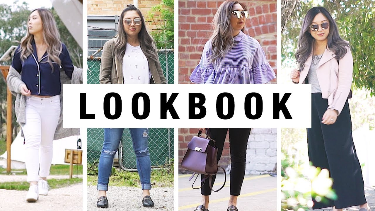 LOOKBOOK – Spring Casual Outfits