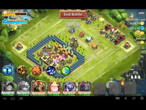 Castle Clash Raiding Tutorial