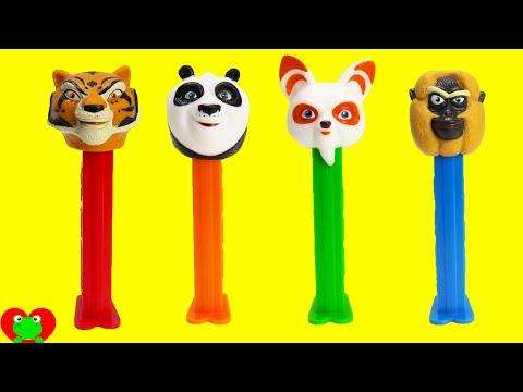 Kung Fu Panda 3 Pez Dispensers