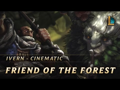 Ivern: Friend of the Forest   New Champion Teaser – League of Legends