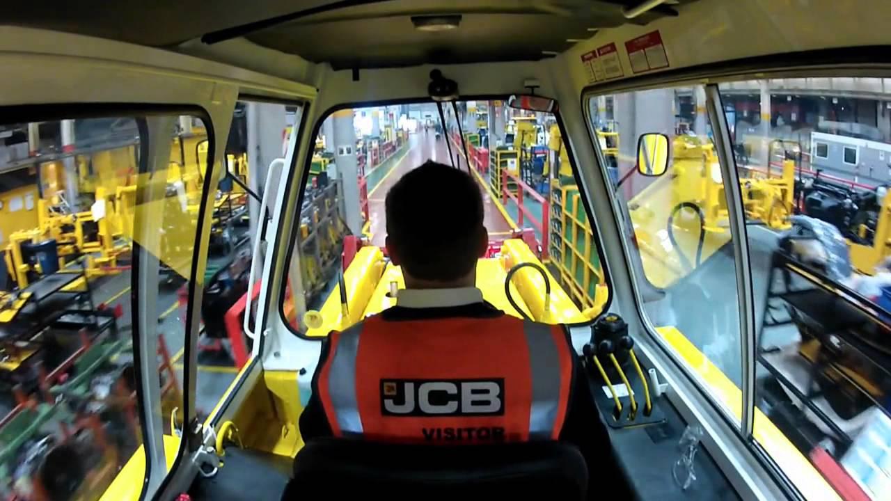JCB 3C MK III restoration by Julian Carder short video around JCB factory