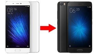 Навеяно!  Был у меня белый MI5-ый, а стал-черным!!! Cтекла и чехлы  для телефона Xiaomi Mi5.(, 2017-03-27T09:54:19.000Z)