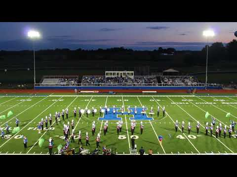 Highland High School Marching Band, Marengo, OH 9/15/17