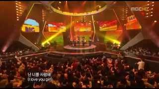 Big Bang Intro, Wonderful, Sunset Glow 2008 MBC Gayo Festival