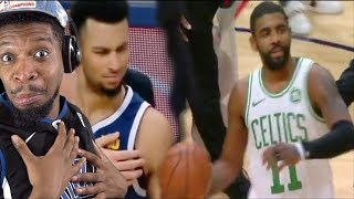 KYRIE GOES OFF ON MURRAY FOR DISRESPECT! CELTICS vs NUGGETS HIGHLIGHTS