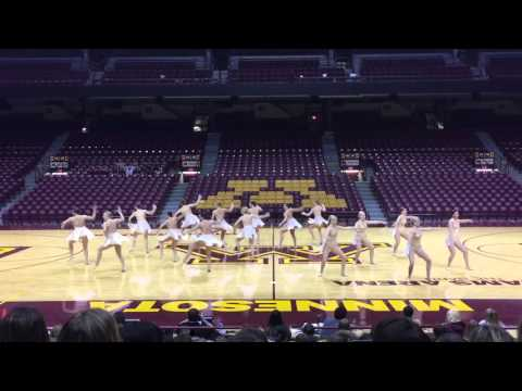 DanceFullOutMN - University of Minnesota Dance Team Jazz 2016