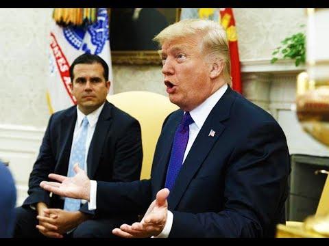 You'll Never Guess How Trump Grades His Puerto Rico Response...