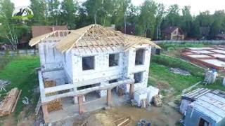 видео Строительство дома из газосиликатных блоков