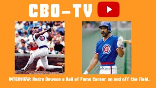 Andre Dawson a Hall of Fame Career on and off the field.