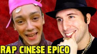 RAP CINESE EPICO DI VALENTINO BEATBOX - PARODIA REACTION