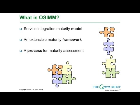 OSIMM Workshop – Answering Your Questions on The Open Group Service Integration Maturity Model