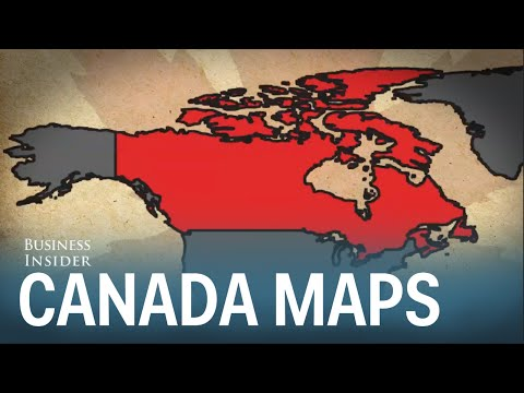 7 Maps That Show How Important Canada Is
