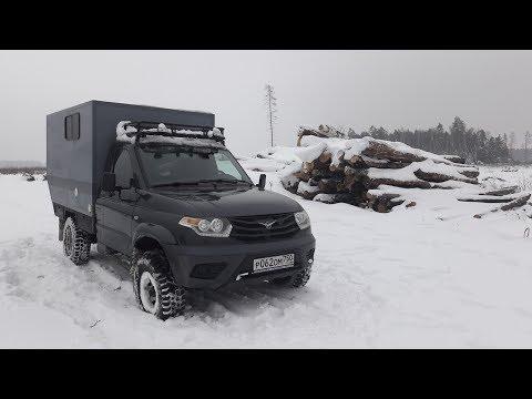 Автодом 4х4 своими руками из УАЗ КАРГО.