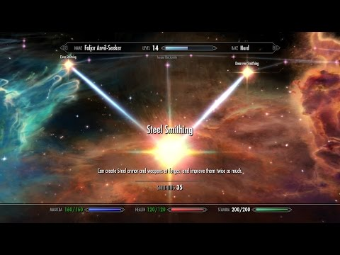 Skyrim Walkthrough [2015] - Road to Smithing level 100 - Jenassa - Part 6 (1080p HD)