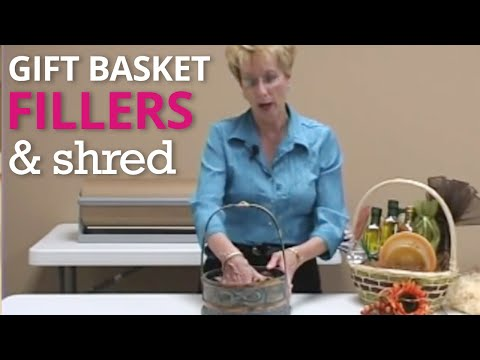 Part 1 Gift Basket Fillers - How To from Nashville...