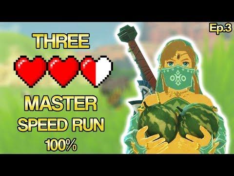 🔴The Legend of Zelda: Breath of the Wild  100% SPEED RUN Episode 3🔴