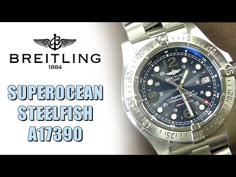 Breitling SuperOcean Steelfish A17390