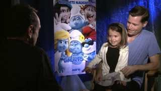 Kid Reporter Talks to Hank Azaria About
