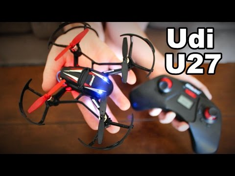 Udi U27 - Cheap Inverted Flight RC Quadcopter Review - Free Loop - TheRcSaylors