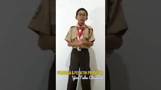 Yel Yel Pramuka Regu Burung Hantu SMPN 189 kebon jeruk Jakarta Barat