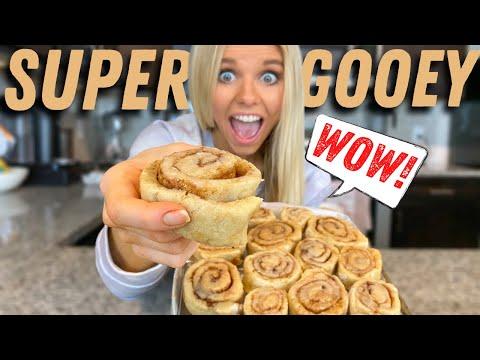 Making THE PERFECT Vegan Cinnamon Rolls (Gluten-Free) | easy vegan dessert recipe