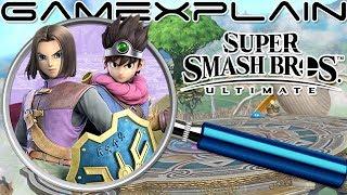 Super Smash Bros. Ultimate ANALYSIS - Dragon Quest Hero Reveal Trailer (Secrets & Hidden Details)