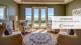 Marble Ridge ArrowCreek, Reno, Nevada home staging