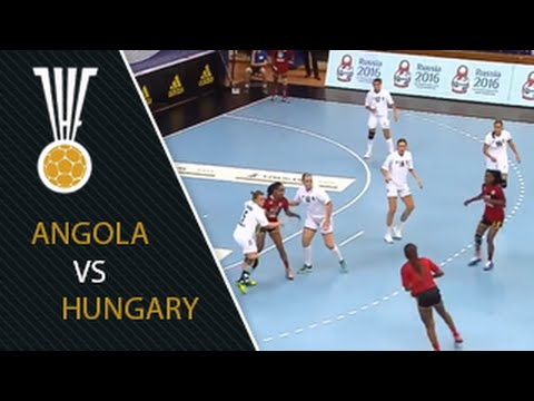 Angola VS  Hungary, Group A - IHF Women's Junior World Championship