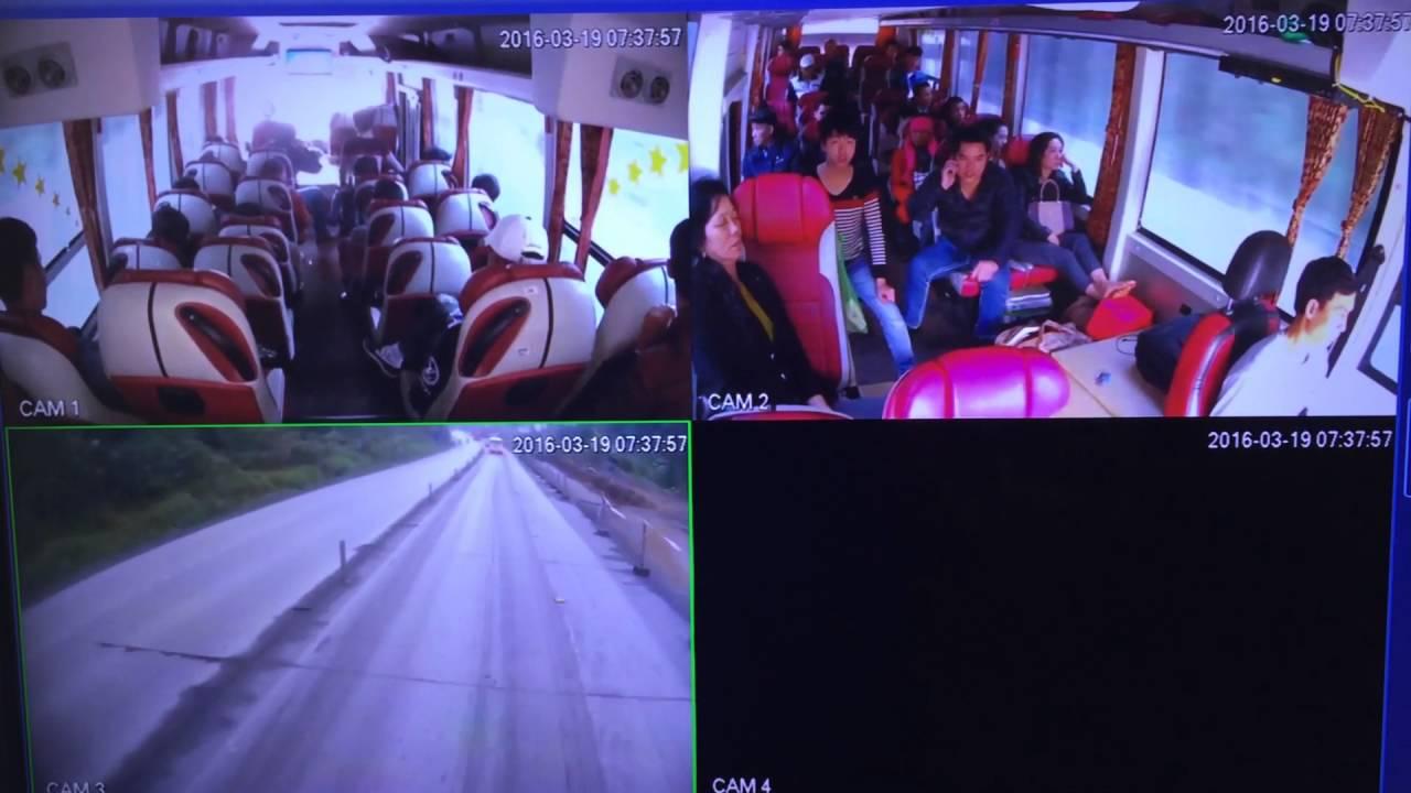 Kết quả hình ảnh cho lắp camera quan sát trên xe khách, xe du lịch