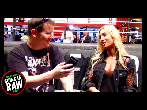 Carmella On Her Time As WWE Smackdown Womens Champion! Going In Raw Quick Chops