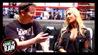 Carmella On Her Time As WWE Smackdown Women's Champion! Going In Raw Quick Chops