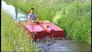 Lodz do koszenia kanalow Bruni BF
