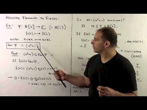 RNT2.1. Maximal Ideals and Fields
